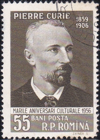 1126 Pierre Curie [Romania Stamp]
