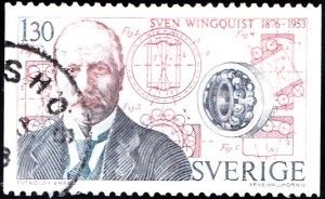 1181 Sven Wingquist (1876-1953) & ball bearing [Swedish inventor]