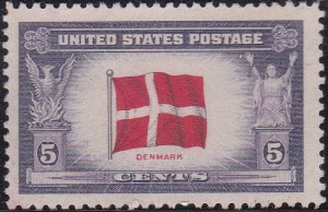 12 Flag of Denmark [Overrun Countries Issue]