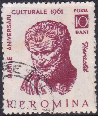 1442 Heraclitus [Romania Stamp]