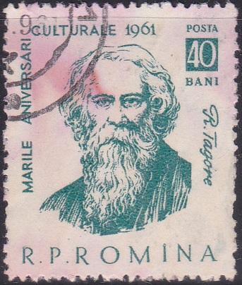 1444 Rabindranath Tagore [Romania Stamp]