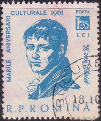 1446 Heinrich von Kleist [Romania Stamp]
