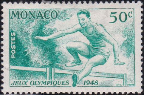 204 Hurdler [Olympic Games 1948, England]