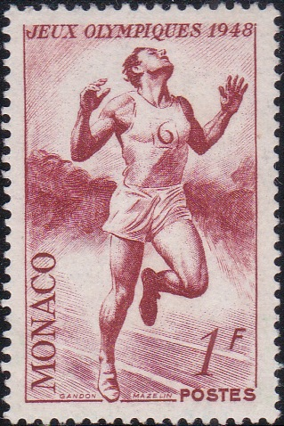 205 Runner [Olympic Games 1948, England]