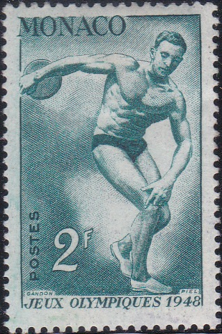 206 Discus thrower [Olympic Games 1948, England]