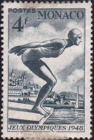 208 Swimmer [Olympic Games 1948, England]