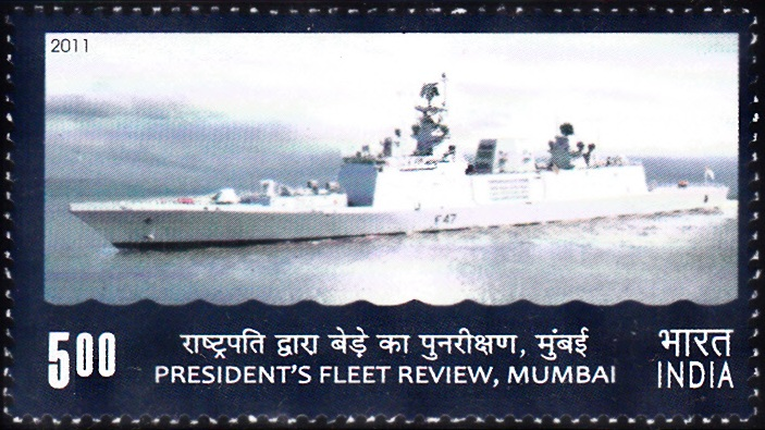 Indian Warship : President's Fleet Review 2011