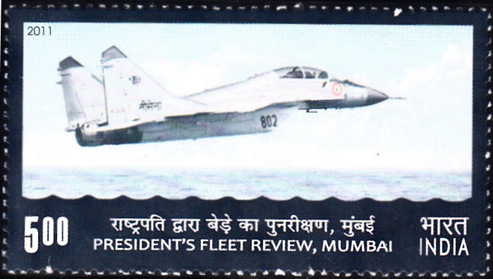 Indian Naval Aircraft : President's Fleet Review 2011