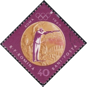 3 Sharpshooting, Rome [Romania's gold medals in 1956, 1960 Olympics]