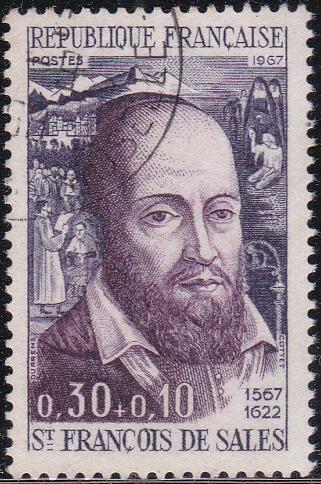 3 St. Francois de Sales [Semi-Postal Stamp]