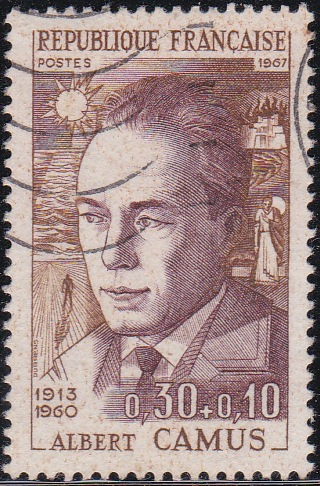 4 Albert Camus [Semi-Postal Stamp]