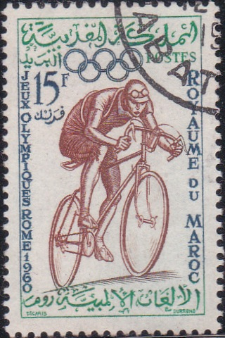 47 Bicyclist [Olympic Games 1960, Rome]