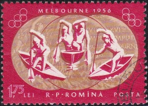 6 Three medals for canoeing [Romania's gold medals in 1956, 1960 Olympics]