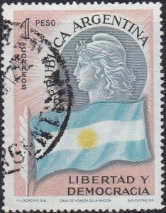 674 Symbols of the Republic [Argentina Stamp]