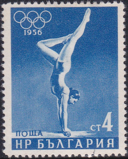 940 Gymnastics [Olympic Games 1956, Melbourne]
