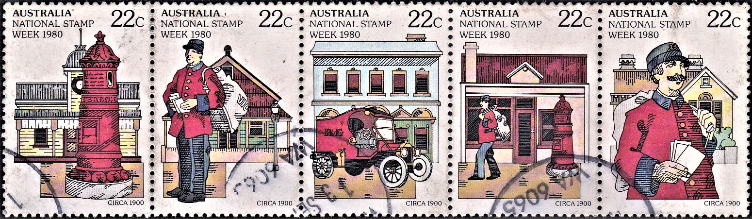 AusPost during British Colonialism