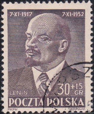 B93 Lenin [Poland Semi-Postal Stamp]