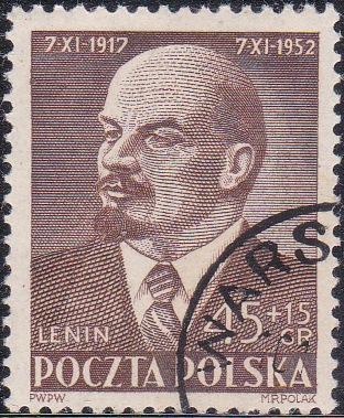 B94 Lenin [Poland Semi-Postal Stamp]
