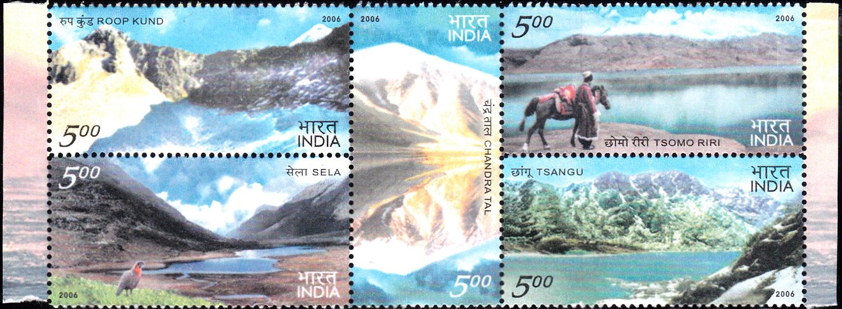 Chandra Tal, Roop Kund, Lake Tsomgo, Sela Lake and Tsomoriri Lake