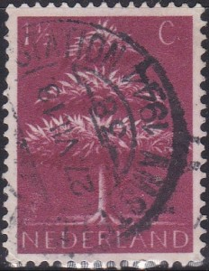 246 Triple-crown Tree [Netherlands Stamp]