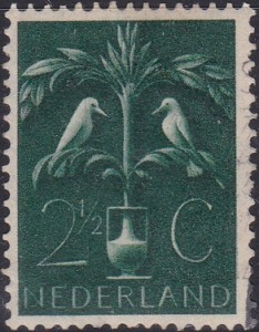 248 Tree of Life [Netherlands Stamp]