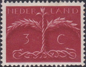249 Tree with snake roots [Netherlands Stamp]