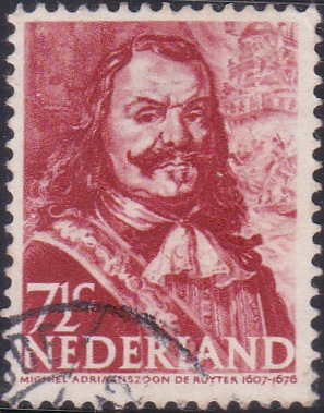 252 Admiral M. A. de Ruyter [Netherlands Stamp]