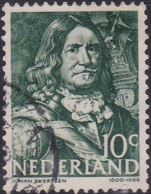 253 Johan Evertsen [Netherlands Stamp]