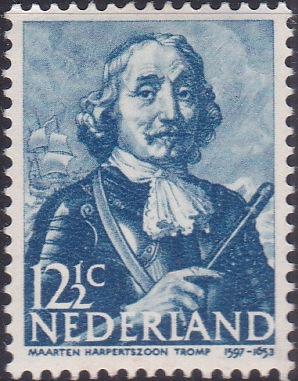 254 Martin Tromp [Netherlands Stamp]