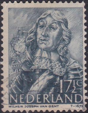 256 Willem van Ghent [Netherlands Stamp]