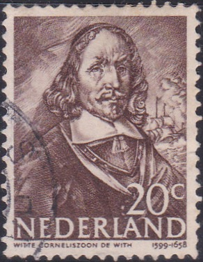 257 Witte de With [Netherlands Stamp]