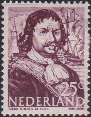 259 Tjerk de Vries [Netherlands Stamp]