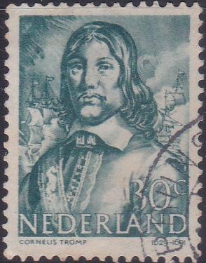 260 Cornelis Tromp [Netherlands Stamp]
