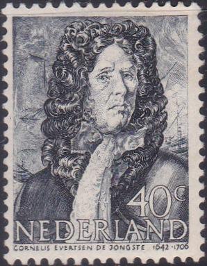 261 Cornelis Evertsen de Jongste [Netherlands Stamp]