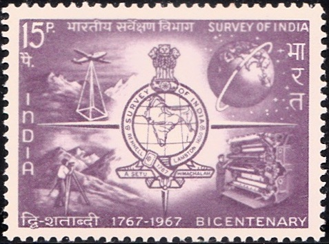 Survey of India Emblem and Activities