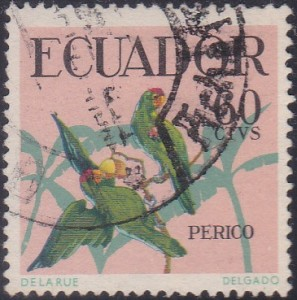 648 Red-fronted Amazon [Birds Stamp]