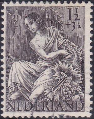 B159 Fortuna [Netherland Semi-Postal Stamp]