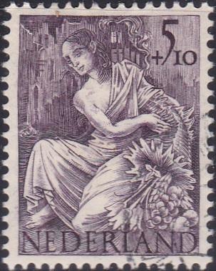 B161 Fortuna [Netherland Semi-Postal Stamp]
