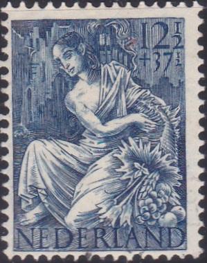 B163 Fortuna [Netherland Semi-Postal Stamp]