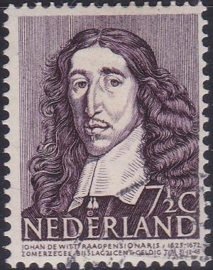 B177 Johan de Witt [Netherland Semi-Postal Stamp]