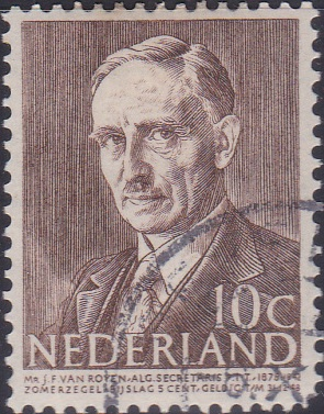 B178 Jean F. van Royen [Netherland Semi-Postal Stamp]