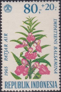 B193 Balsam [Indonesia Flower Stamp]