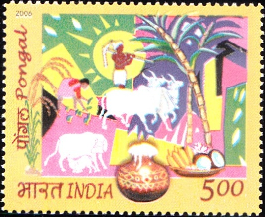 2162 Pongal [India Stamp 2006]