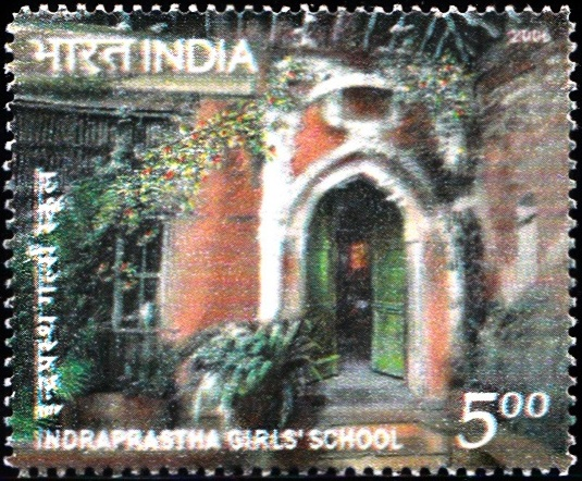 2193 Indraprastha Girl's School [India Stamp 2006]