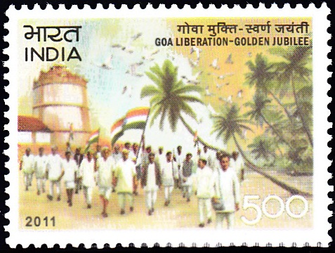 2736 Goa Liberation - Golden Jubilee [India Stamp 2011]