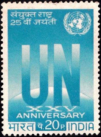 UN Emblem and Globe