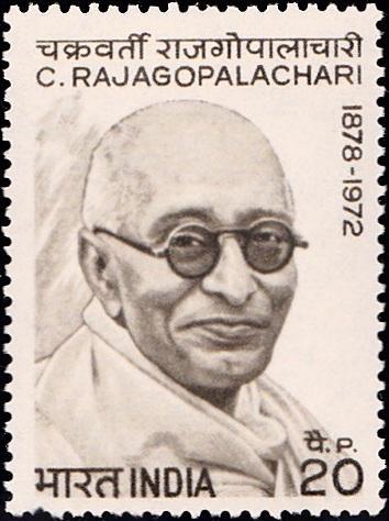 Chakravarti Rajagopalachari : Chief Minister of Madras