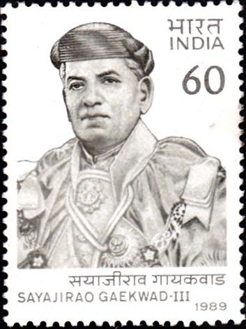 Sir Sayajirao Gaekwad III, Maharaja of Baroda State