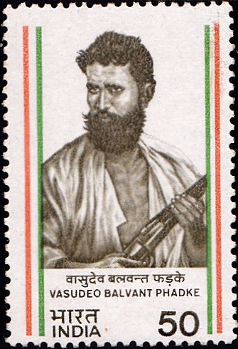 966 Vasudeo Balvant Phadke [India Stamp 1984]