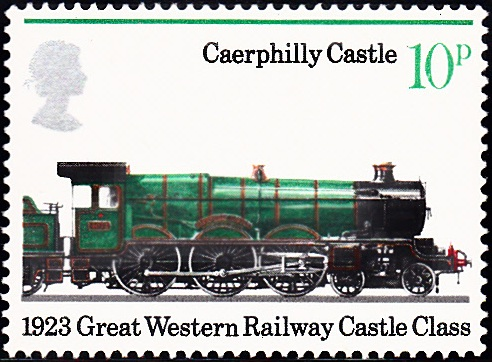 751 Caerphilly Castle, 1923 [England Stamp 1975]